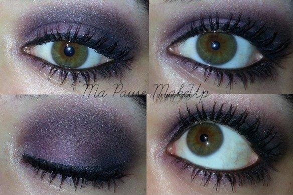 # Maquillage fête n°1 - Violet