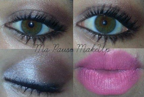 # Maquillage beige/cuivre