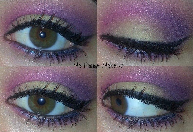 # Maquillage pastel coloré