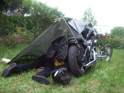 Biker nomads lone wolf