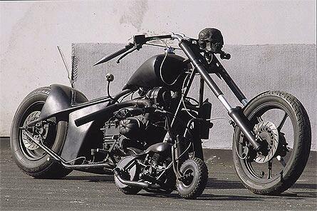 Ratbike moteur citroen et mini rats