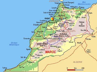 carte geographique du maroc   youyou