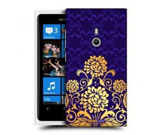 Coque de protection pour Nokia Lumia 800 design Fleurs