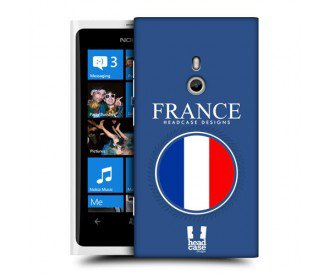 Coque de protection pour Nokia Lumia 800 design Drapeau Francais