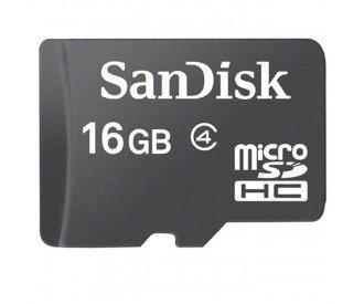 Promo ! Carte micro SD 16 Gb Sandisk 7,90¤