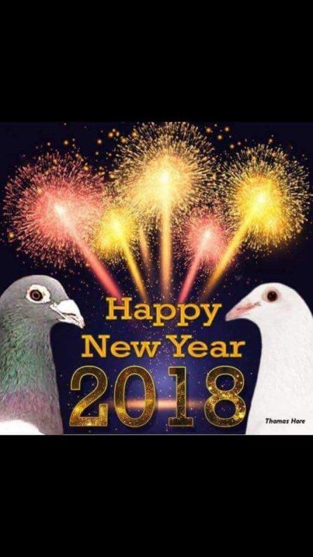 La Revanche de Thiant vous souhaite à tous une bonne année 2018