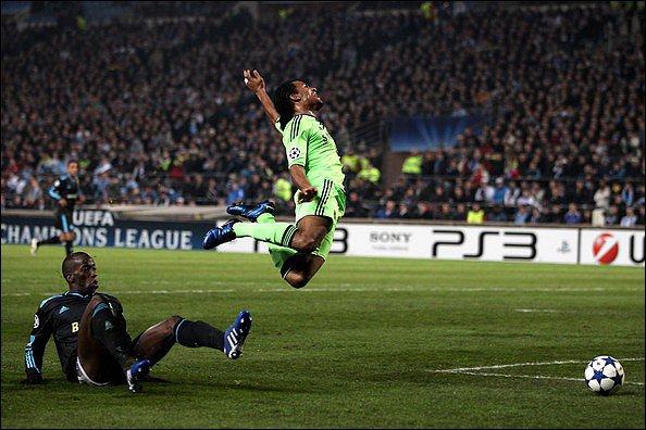 C1 : trois penalties non sifflés pour Chelsea
