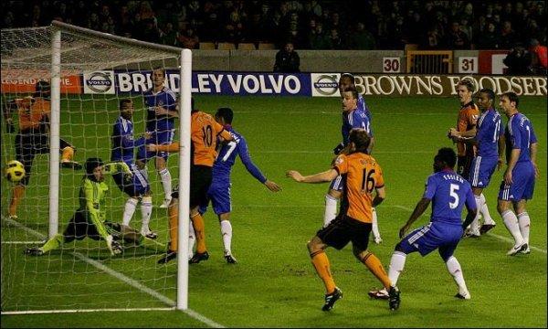 Wolverhampton 1-0 Chelsea