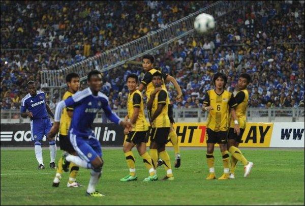 Malaisie XI 0-1 Chelsea