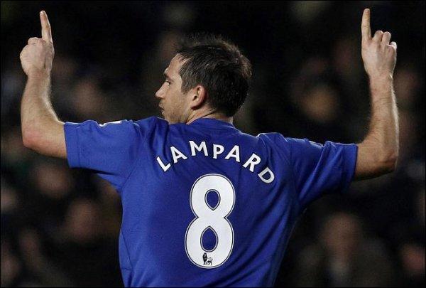 Les numéros des joueurs de Chelsea