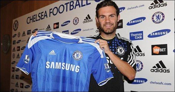 (Officiel) Mata signe à Chelsea