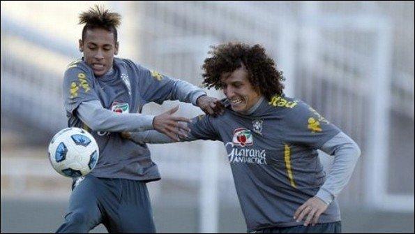 David Luiz veut Neymar