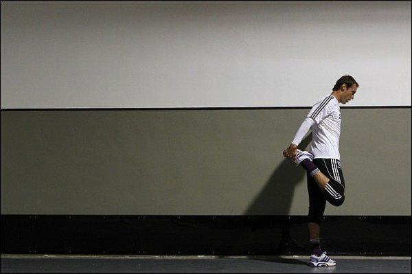 Cech reprend l'entraînement