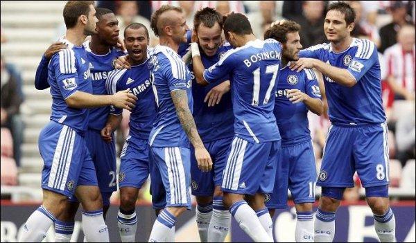Sunderland 1-2 Chelsea