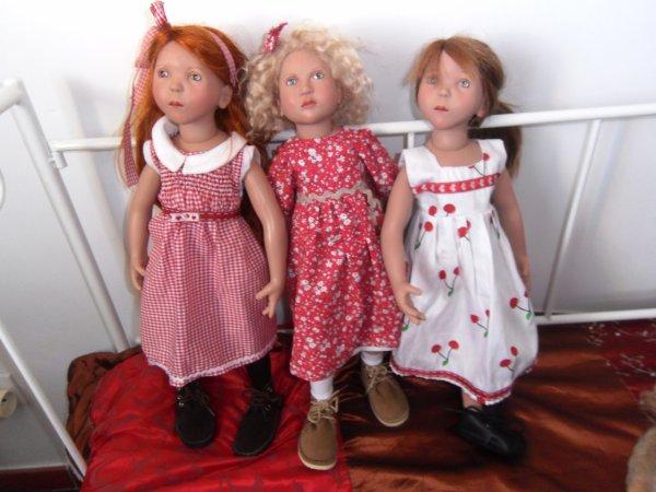 Aglaé, Blanche, Tosca
