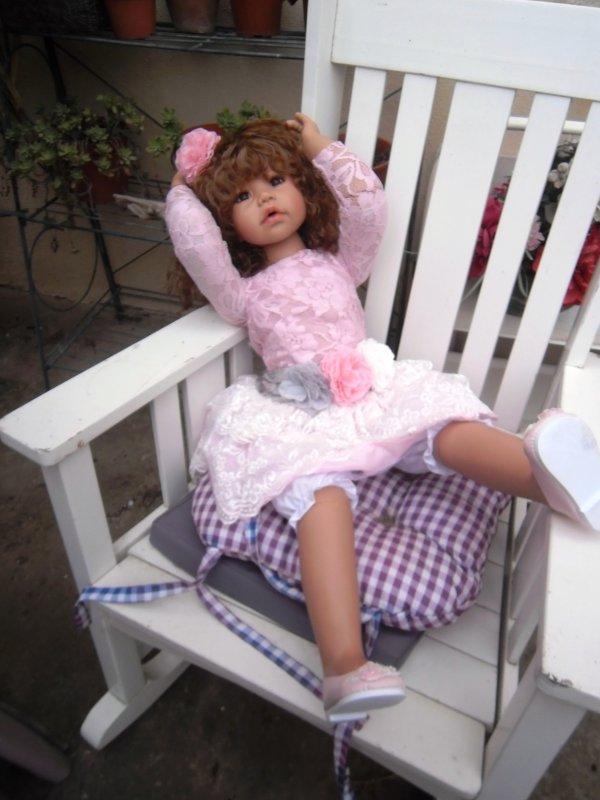 Une pose sur la terrasse!! Une pause dans le rocking chair ...