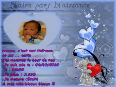 mon fils Haïrman