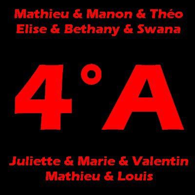 ♥ Les 4ème A ♥