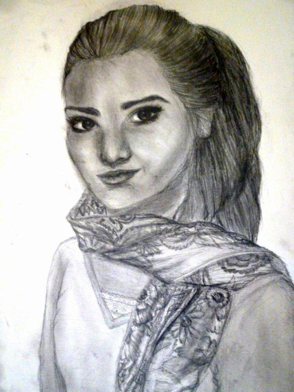 Autoportrait (Crayon à papier)