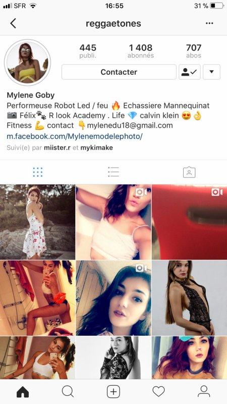 Ajoutez reggaetones sur Instagram