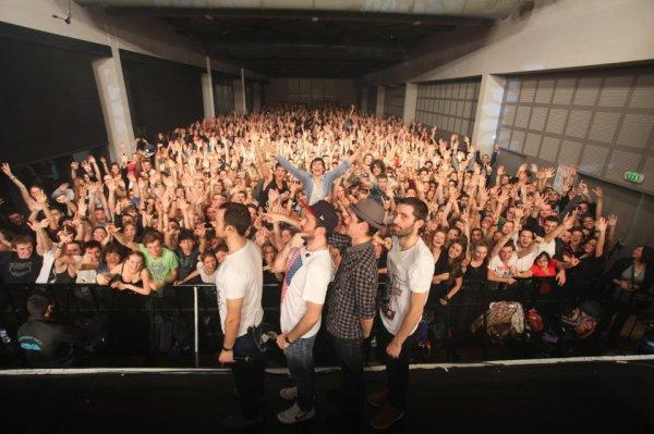 Photo de fin de concert.