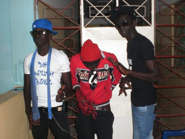 Young Peezy F Baby Aly G and  Boubasse