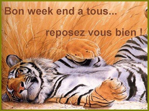 BON WEEK-END A TOUS