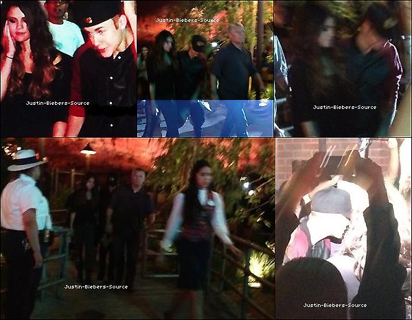 . 01/07/12Justin et sa chérie Selena Gomez ne se lache plus en ce moment ! Hier, le 30 Juin, ils ont étaient vu à Disneyland, des fans ont réussient à prendre quelques photos, retrouvez tout ça dans la galerie. Dans la même journée, ils ont également étaient vu main dans la main à Encino! Adorable, non?. N'hésitez pas non plus à visiter Selena Gomez France si vous êtes fans de Selena Gomez ! :-)