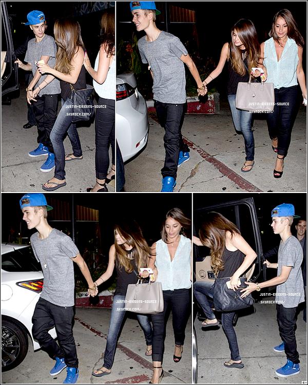 . 05/07/12 Justin Et Selena Gomez À Hollywood. Perso j'aime beaucoup sa tenue :D vraiment et toi ?