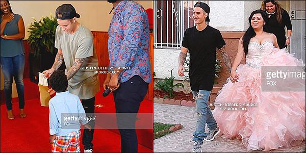 Le 27 juillet, Justin à été vu à Laguna Beach, en Californie. + Le 27 juillet, Justin était dans l'épisode du Knock Knock Live de mardi. + Toujours le 27, Justin  à été vu de nouveau par des fans à Laguna Beach, en Californie.