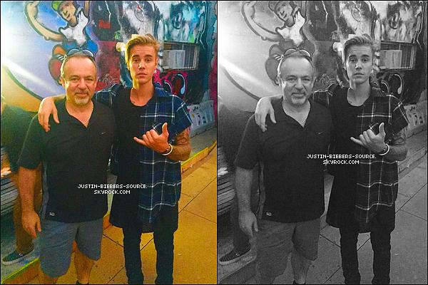 Le 28 juillet, Justin était présent à la radio de Ryan Seacrest à Los Angeles. + Toujours le 28, Justin à été vu par un fan dans Los Angeles. + Le 29, Justin à été vu quittant le restaurant Il Pastaio à Los Angeles, en Californie. + Justin à poster 3 nouvelles photos sur Instagram. Celui-ci dévoilera bientôt What Do You Mean son nouveau single.