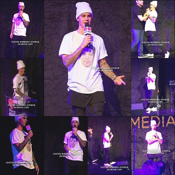 05/08/15Août 5 : Justin arrive à iHeartMedia dans Burbank, la Californie.+Août 5 : Justin au Sommet de Musique iHeartMedia à Los Angeles, CA