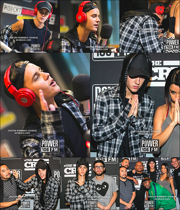 "Le 27 août, Justin était présent à la Radio Disney à Los Angeles, en Californie. + Le 27 août, Justin à été vu devant la radio Z100 à Los Angeles, en Californie. + Le 27, Justin était présent au programme ""The Cruz Show"", à la radio Power 106 FM, en Californie. + Photos backstages du clip de What Do You Mean + Le 28, Justin à réaliser des répétitions pour la cérémonie des MTV Video Music Awards 2015, à Los Angeles + Le 28, Justin à été vu par des fans a l'académie ""South LA Boxing Club"" à Los Angeles. + Toujours le 28, Justin à rencontrer des fans de Make-A-Wish à Los Angeles, en Californie."