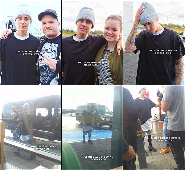 Le 21 septembre, Justin à été vu dans un subway à Keflavik, en Islande. + Toujours le 21, Justin à été vu par des fans dans Selfoss, toujours en Islande. + Justin a poster de nouvelles photos sur Instagram.