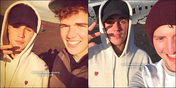 Nouveau photoshoot de Justin + Le 22 septembre, Justin à été vu par des fans en Islande. + Le 23 septembre, Justin à été vu encore par des fans, en Islande.