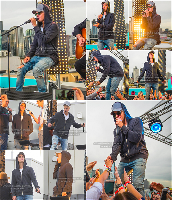 Le 30 septembre : les nouvelles photos de Justin à l'événement *BieberIsland à Sydney, l'Australie.