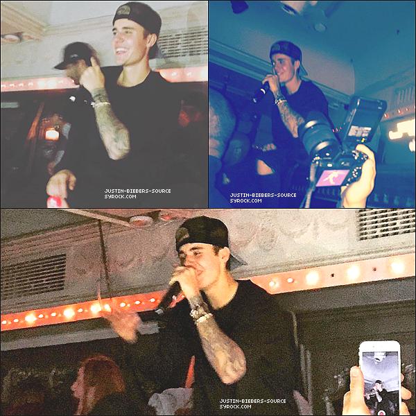 Le 15 novembre : départ de Justin 1Oak à New York, NEW YORK+Le 15 novembre : Justin laissant(quittant) Tournoiement(Spin) NYC à New York, NEW YORK.+Le 15 novembre : Éventez les photos prises de Justin à En haut et En bas à NYC, NEW YORK.