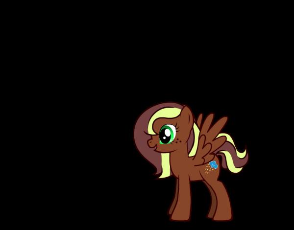 Mon OC poney !