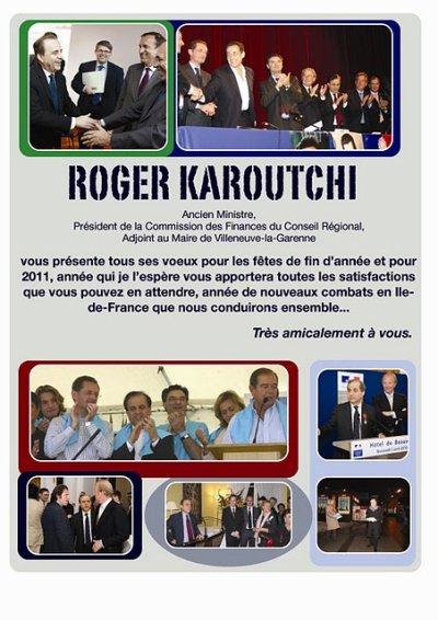 *2011 : Voeux de Roger Karoutchi*
