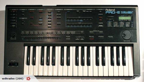 Clavier Roland Pro-e Intelligent Arranger