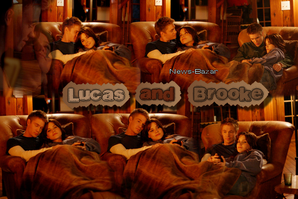 ••● Catégorie Couples One Tree Hill : Lucas & Brooke Couples Fan