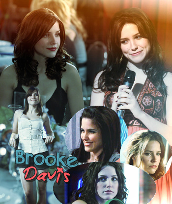 ••● Catégorie Personnages One Tree Hill : Brooke Davis