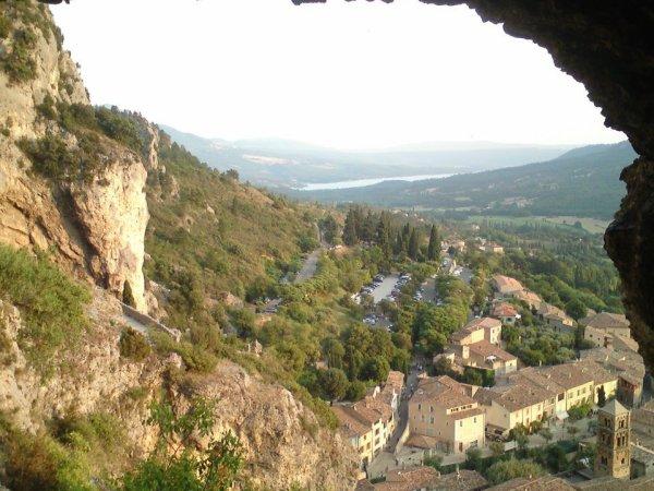 Vue d'une grotte :)