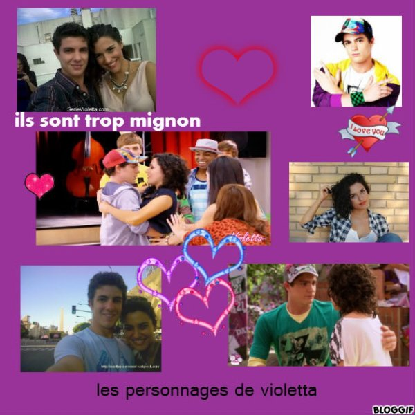 Maxi y naty les personnages de violetta - Violetta et maxi ...
