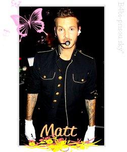1er concert de Matt, 10 Octobre 2008 ^^ 4 ans déjà