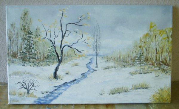 peinture d'éleve