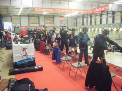 championnat de france à Chambéry
