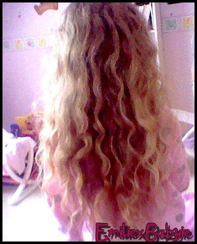 Aperçu des cheveux de ma princesa <3