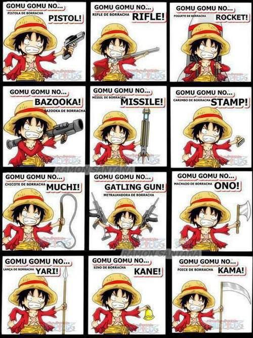 Attaque de Luffy