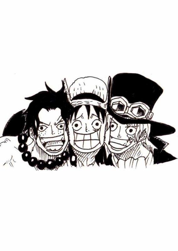 Ace, Luffy, Sabo